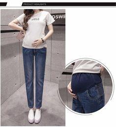 7e1e339509d3d 2017 Denim Republic Jeans Maternity Slim High Jeans Maternity Long Pants  Stocks - Buy Denim Republic Jeans,Skinny High Ankle Jeans,Maternity Blue  Jeans ...