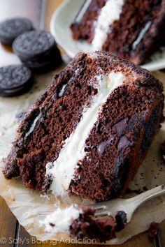 Ever Heard of An Oreo Upside-Down Cake?  - CountryLiving.com