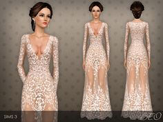 Dress 026 for The Sims 3 by BEO