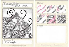 BEEZ in the Belfry: Tangle of the Week - Shattuck   http://www.blogger.com/profile/02979547420298040620