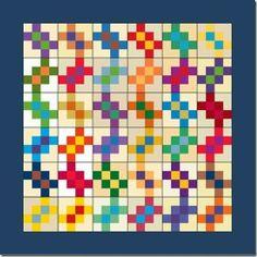 garlicknots2 Bonnie Hunter Quiltsville free pattern