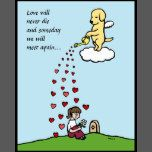 Whimsy and cute Labrador Retriever Art created by Naomi Ochiai from Japan. For those who lost their beloved Yellow Labrador(s). Hope this adorable and innocent Labrador comforts them something.  Dog's love is such loyal and unconditional to his/her people and that's why they are loved and missed forever...  You can customize text for you.
