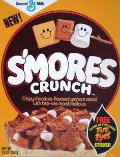 S'mores Crunch | 25 Cereals From The '80s You Will Never Eat Again