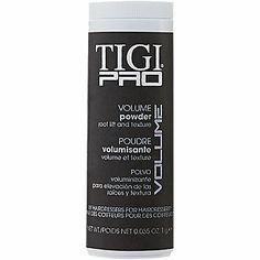 TIGI Pro Volume Powder #SallyBeauty for hair stuck to head