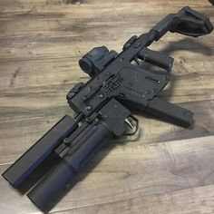 kriss vector + silencerco and granade launcher