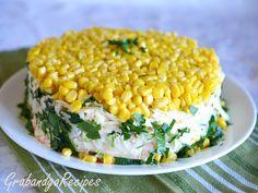 Fabulous Corn Layered Salad –