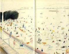 Heart Artist's Agents - Artists - Yann Kebbi - Galleries - Yann Kebbi 4 Sketchbook Drawings, Artist Sketchbook, Sketches, Observational Drawing, Art Et Illustration, Sketchbook Inspiration, You Draw, Urban Sketching, Illustrators