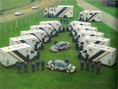 Ford Rally Team - cars, vans and trucks (C 1990):