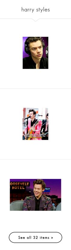 """""""harry styles"""" by delinquents ❤ liked on Polyvore featuring harry, harry styles, 1d, one direction, costumes, instagram, heart costume, beauty products, haircare and hair styling tools"""