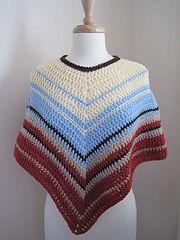 Ravelry: Easy-Crochet Poncho pattern by Kathy North