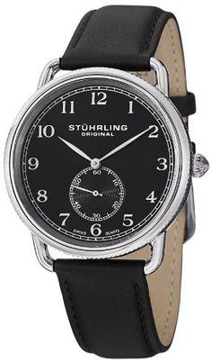 Stuhrling Original Men's 207.02 Classic Cuvette Decor Swiss Quartz Black Leather Strap Watch Stuhrling Original http://www.amazon.com/dp/B00DI1TXZQ/ref=cm_sw_r_pi_dp_.C5Mtb0Q1D82M6HM