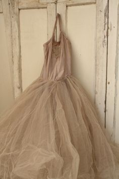 old ballet dress from France
