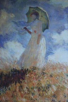 Claude Monet - Woman with Parasol
