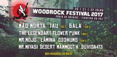 Mr.Myagi, Desert Mammooth e Duvida 413 no Woodrock Festival  Mr.Myagi, Desert Mammooth e os locais Duvida 413, são as 3 novas adições ao cartaz do festival. O line up final será revelado em Abril.  A organização passa também a disponibilizar a partir de +info em http://wp.me/p5MaUC-5IH  #DesertMammoth #Duvida413 #MrMyagi #WoodrockFestival
