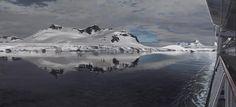 Richard Estes (1932-) Antarctica VI 2007 (94 x 203 cm)