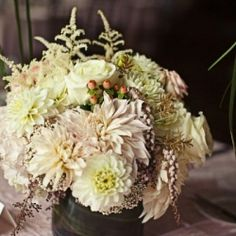 Gorgeous details at this ballroom wedding!