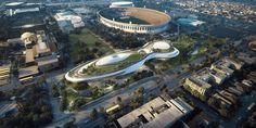 MAD unveils Lucas Museum designs for San Francisco and Los Angeles