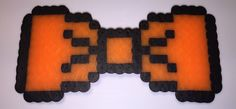 ORANGE 8-BIT BOW TIE  - available on therubypig.com