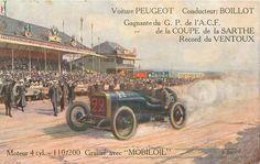 car 22 moves left in front of grandstand  VOITURE PEUGEOT, CONDUCTEUR: BOILLOT…