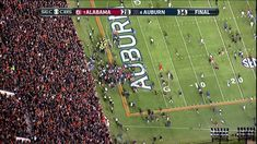 The ending to that Auburn-Alabama game  is still blowing my mind. Amazing