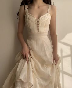 "fan outfits account on Twitter: ""vintage dresses… "" Pretty Outfits, Pretty Dresses, Beautiful Dresses, Old Dress, Dress Up, Vestidos Vintage, Vintage Dresses, Fairytale Dress, Fairy Dress"