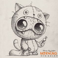 Bugbite has his costume ready! #morningscribbles #countdowntohalloween