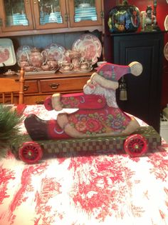 Santa on Wheels, a Heidi England Design.