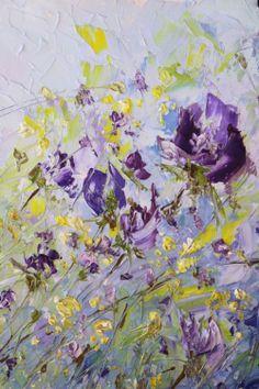 Matkina Art. Oil painting flowers