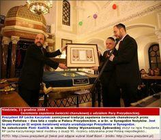 21.12.2008, Warszawa, Synagoga Nożyków - Święto Chanuka - KLIKNIJ
