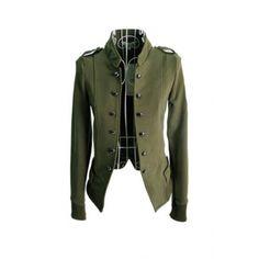 veste verte femme