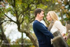 Rustic wooden fence engagement photo pose by Happy Finch Photography   Virginia and Pennsylvania Wedding and Engagement Photographer