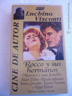 ROCCO Y SUS HERMANOS ALAIN DELON RENATO SALVATORI ANNIE GIRARDOT KATINA PAXINOU ROGER HANIN (Cine en VHS - Drama) Luchino Visconti, Vhs, Alain Delon, Drama, Merry, Books, Author, Siblings, Movies