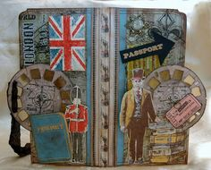 CREATIVITY IS CONTAGIOUS: TIM HOLTZ STYLE PASSPORT POCKET FOLDER and TUTORIAL