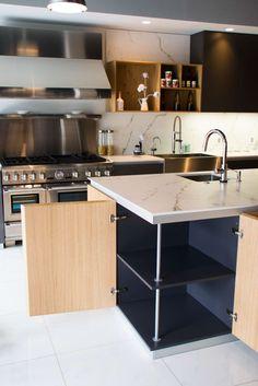 moderne küche bilder: vorratsschrank mit innenauszügen, Kuchen dekoo