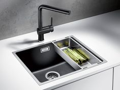 SUBLINE500IF SteelFrame sink by Blanco Australia