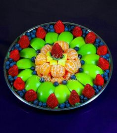 Fruit platter with blueberries Please Pray for my nephew jeremy that his colon cancer be Healed! We Need a MIRACLE!