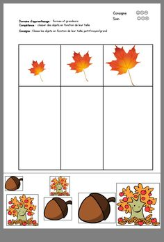 Fall Preschool Activities, Kindergarten Math Worksheets, Toddler Learning Activities, Homeschool Kindergarten, Montessori Activities, Preschool Math, Tree Study, Toddler School, Fall Crafts