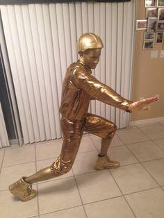 Heisman Trophy Costume | Halloween Crawl | Pinterest | Heisman ...