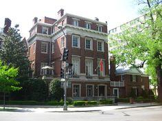 Embassy of Montenegro. Washington, DC. (Electic Houses\Italian Renaissance style\Town House variant)