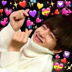 Find images and videos about kpop, bts and funny on We Heart It - the app to get lost in what you love. Foto Bts, Video Daddy, Bts Taehyung, Jimin, Kpop, Bts Emoji, Les Aliens, V Bts Cute, Heart Meme