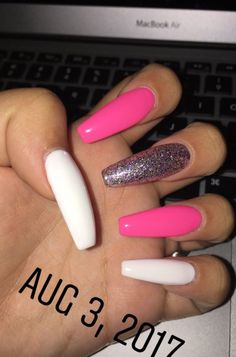 What manicure for what kind of nails? - My Nails Summer Acrylic Nails, Best Acrylic Nails, Acrylic Nail Designs, Summer Nails, Swag Nails, My Nails, Grunge Nails, Finger, School Nails