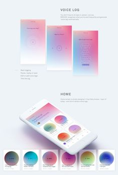 Breeze - Voice only SNS on Behance Web Design, Red Dot Design, App Ui Design, Interface Design, User Interface, Mobile Ui Design, Mobile App Ui, Music App, Ui Design Inspiration
