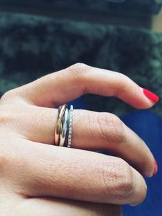 Cartier Trinity Ring as engagement ring? - Weddingbee