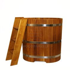 Wooden Sauna Tub 100/90 cms, UK & Ireland biggest manufacturer of Wooden Bathtub All Wooden tubs can be made different types of wood and any size