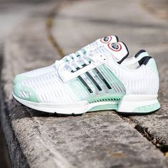 separation shoes 181e5 c9c32 adidas Originals Climacool 1 White  Ice Green  Core Black Chaussure,  Adidas Authentiques