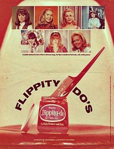 vintage Dippity Do ad