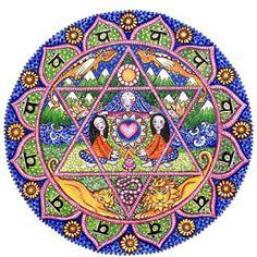 Tarot, Potions, and Psychedelic Magick Spells: Chakra Mandalas by Lindy Longhurst