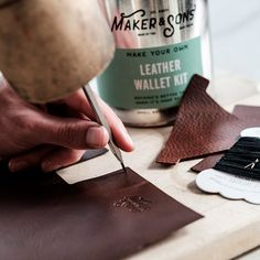 Men's Society DIY Make your own Wallet Kit - Delivery in United Kingdom by GiftsForEurope