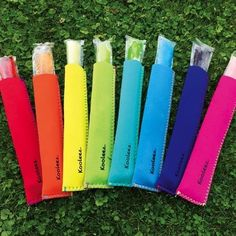 Freezer Pop & Go-Gurt Insulators (4-Pack) | Jane