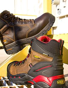 Mens Work Boots amp Shoes On Pinterest Safety Milwaukee And